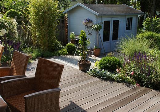 Die Baumler Baumler Garten Terrasse Mit Brunnen